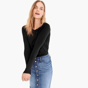 J. Crew Slim perfect long-sleeve T-shirt
